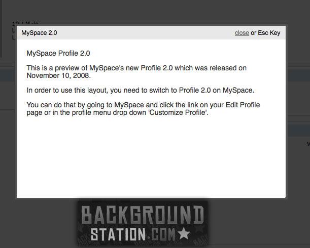 myspace layout generator glitter